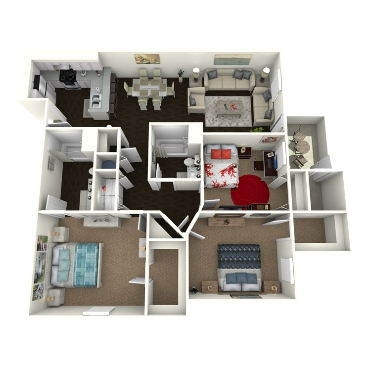 Floor plan image of C1R