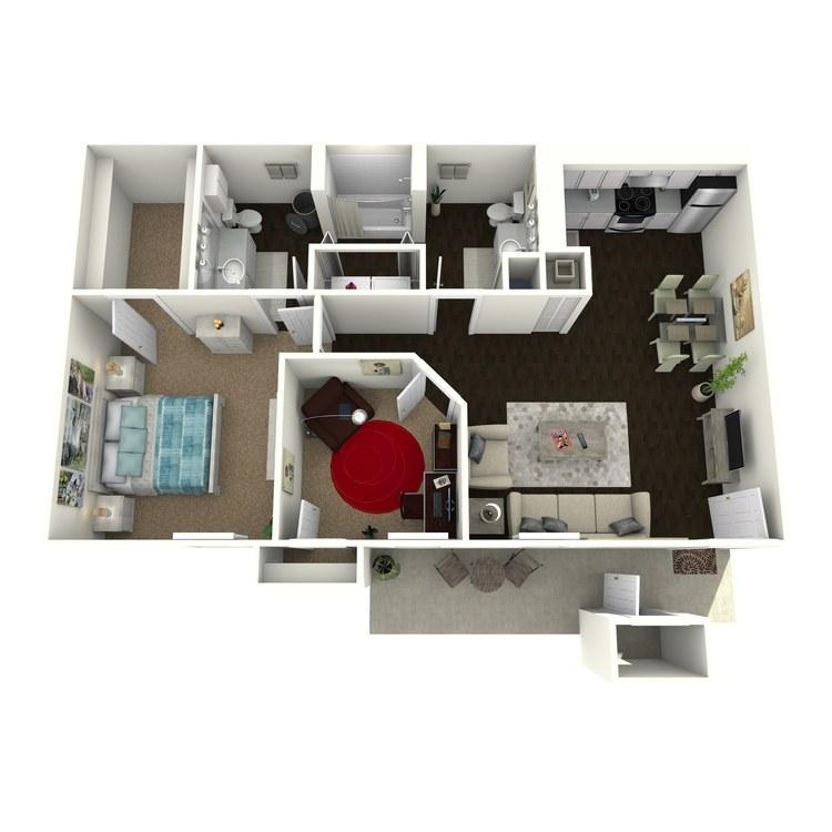 Floor plan image of A3R