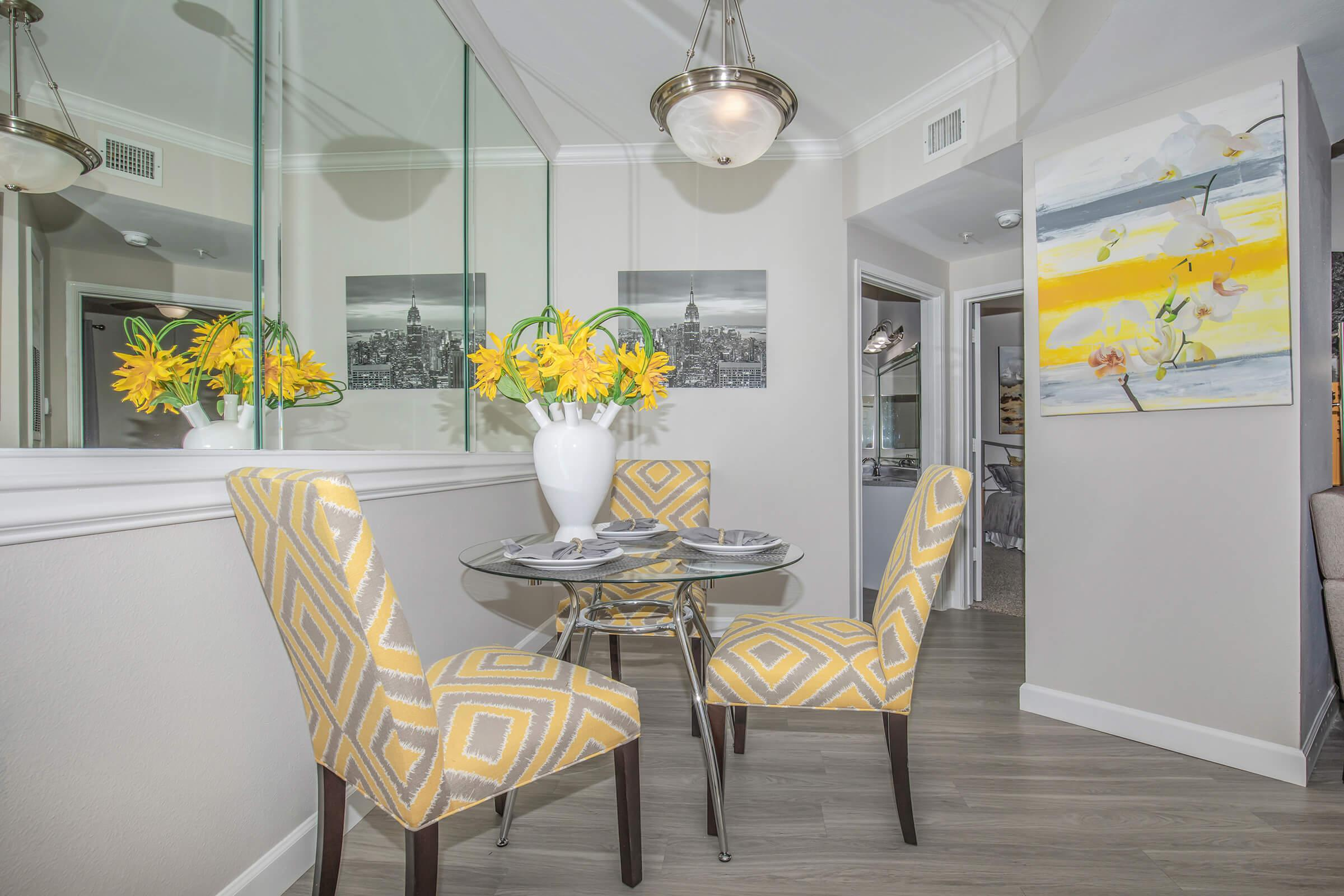 YOUR NEW DINING ROOM