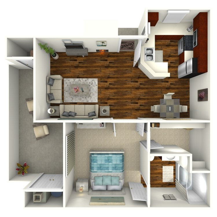 Floor plan image of Plan 1