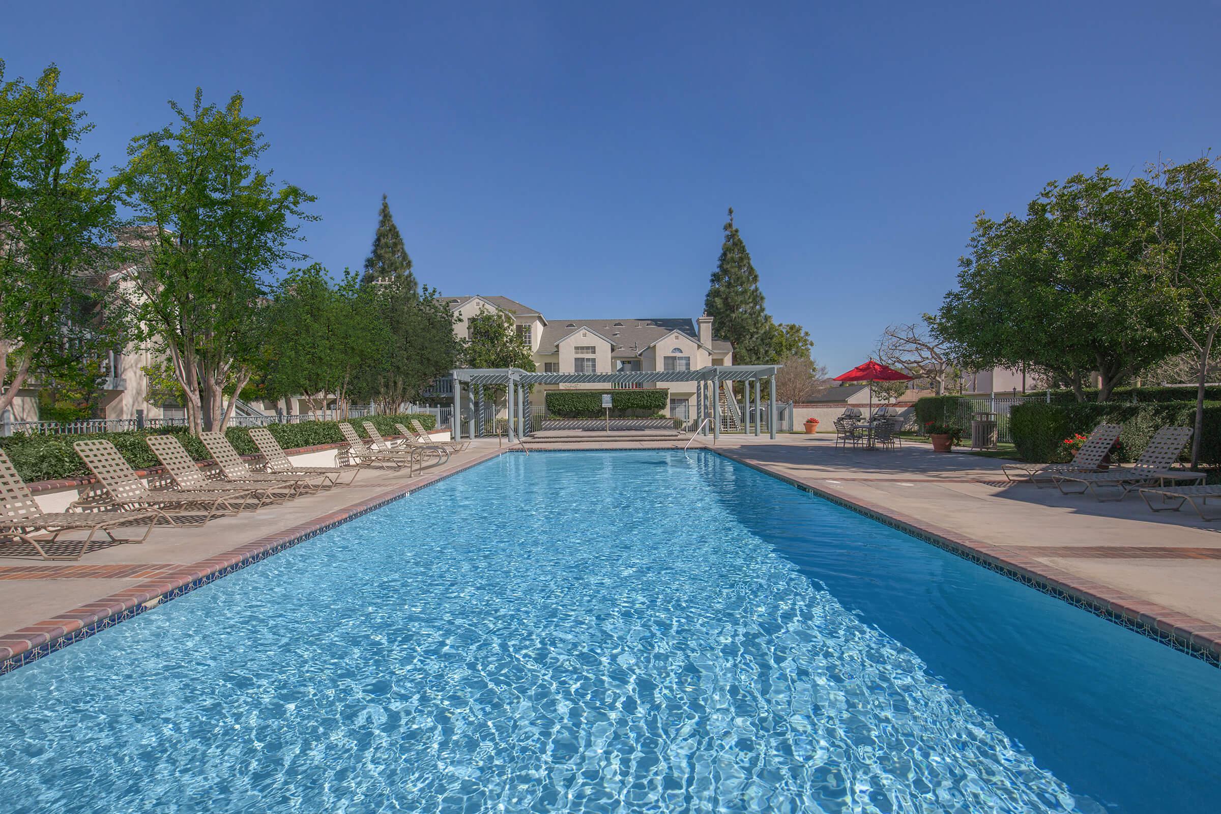 River Ridge Apartment Homes community pool