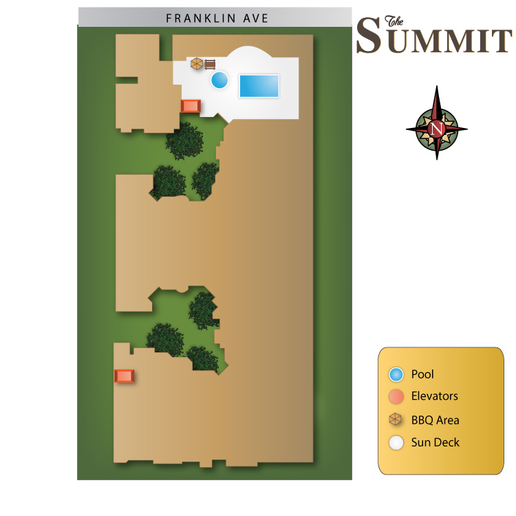 The Summit Apartments Community Maps