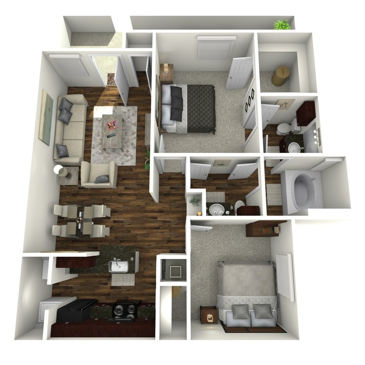 Floor plan image of La Vida