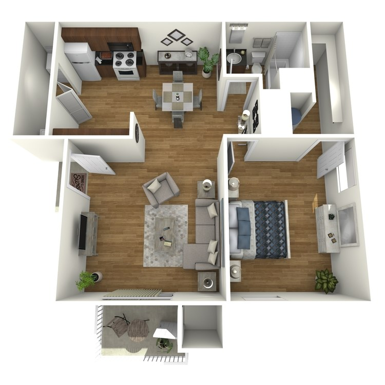 Floor plan image of Plan A