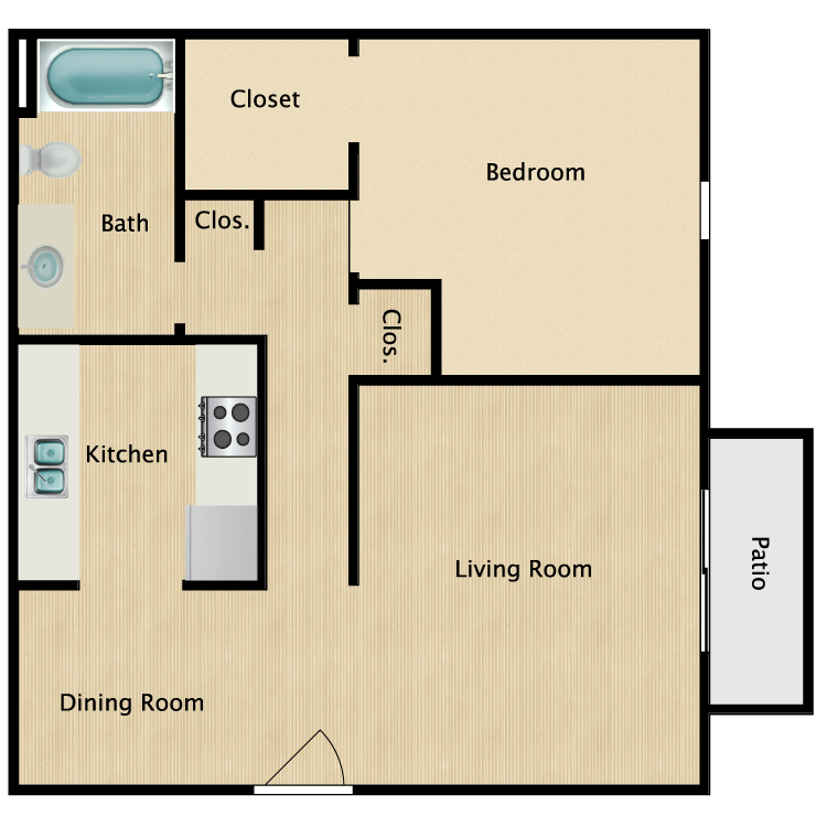 Floor plan image of The Jenny