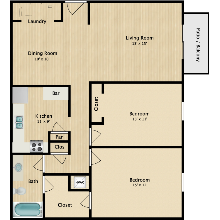 Floor plan image of The Percy