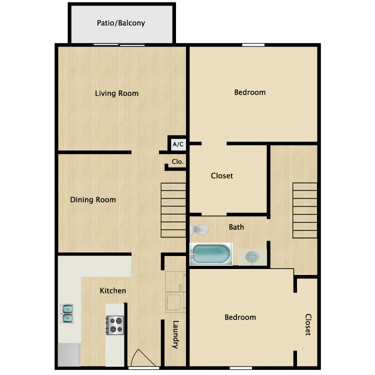 Floor plan image of The Heron