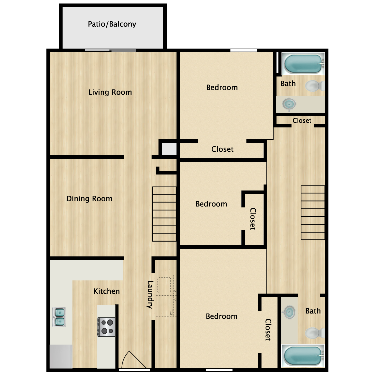 Floor plan image of The Hamilton