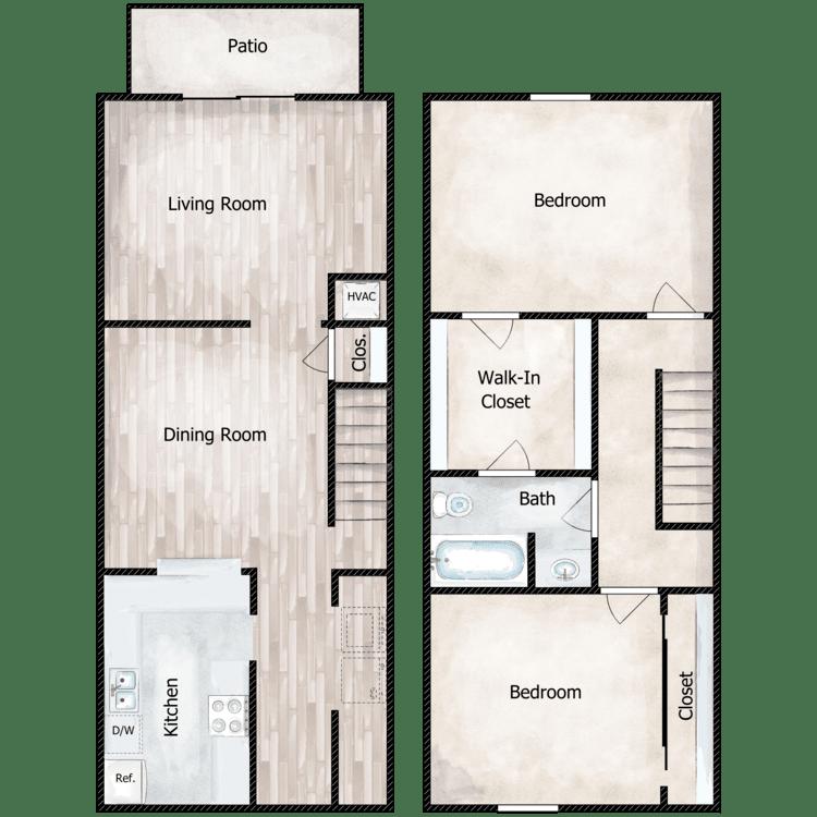 Floor plan image of The Heron