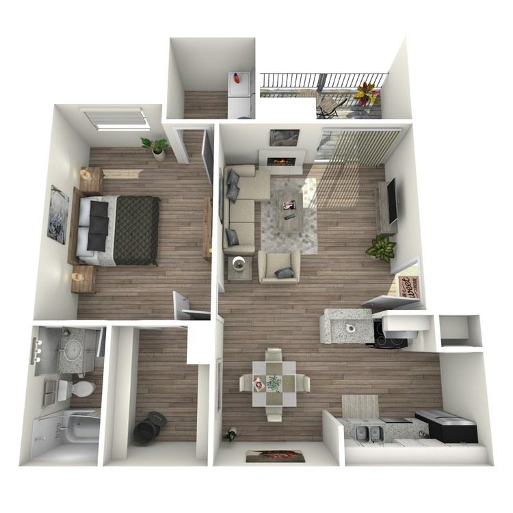 Floor plan image of The Agean