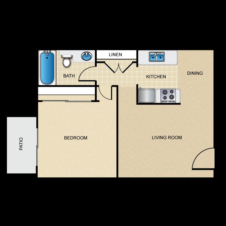 Cordova A floor plan image