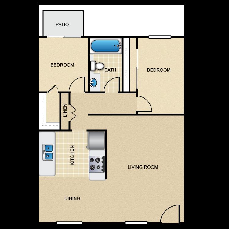 Cordova C floor plan image