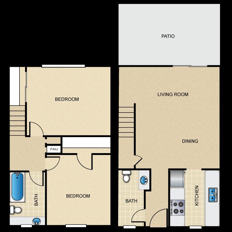 Castilian C floor plan image