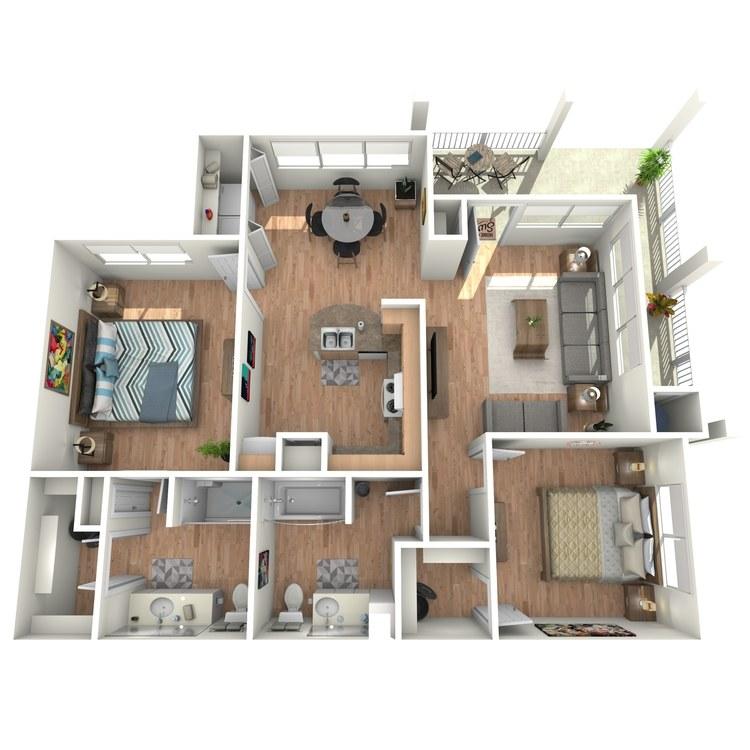 Floor plan image of Ellington