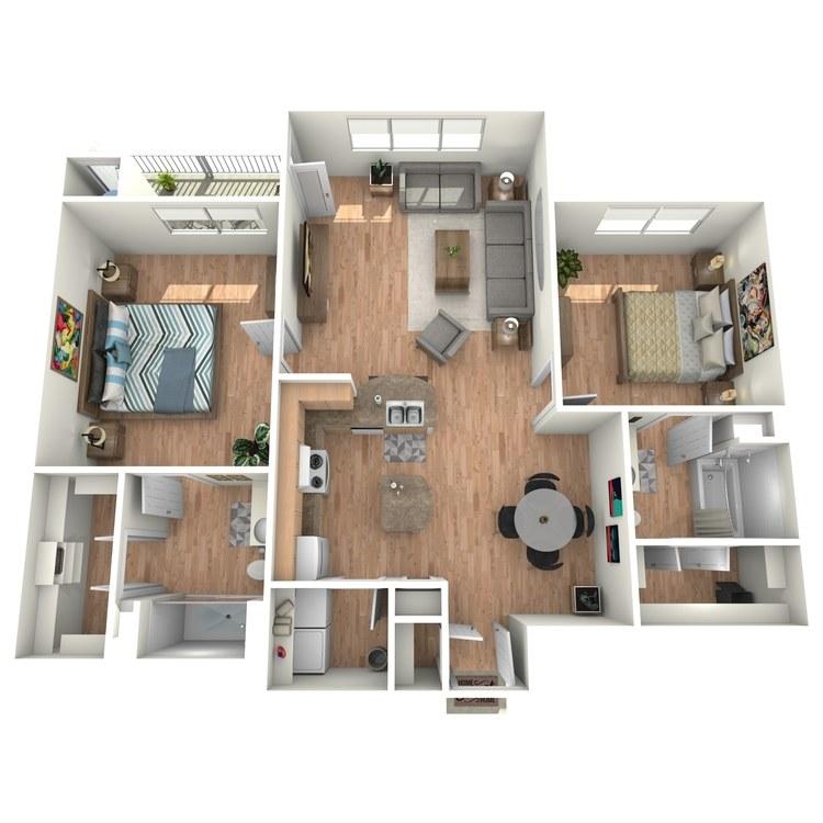 Floor plan image of Dorsey