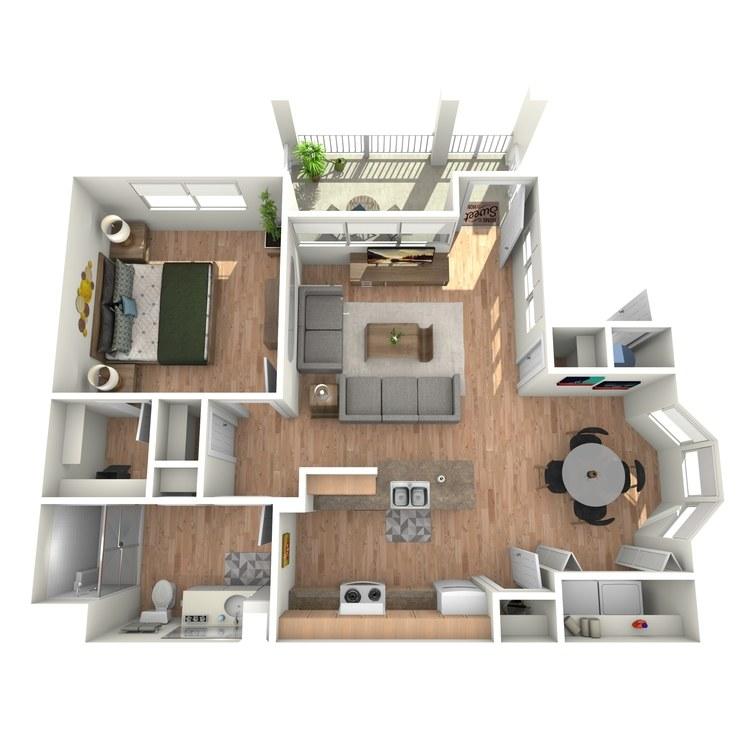 Floor plan image of Goodman