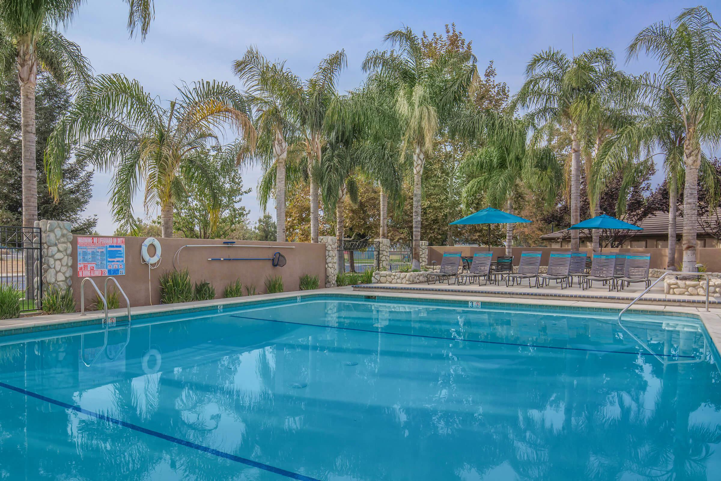 Breakwater Apartments community pool