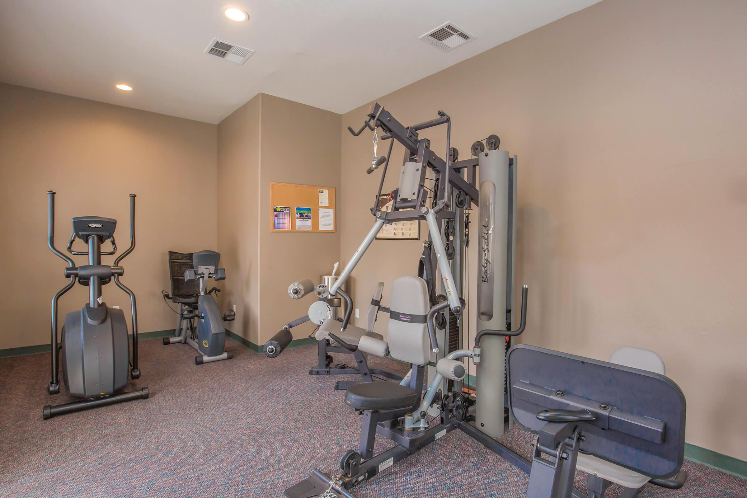 Breakwater Apartments community gym
