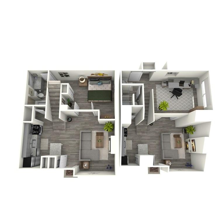 Floor plan image of B2R Study/Loft