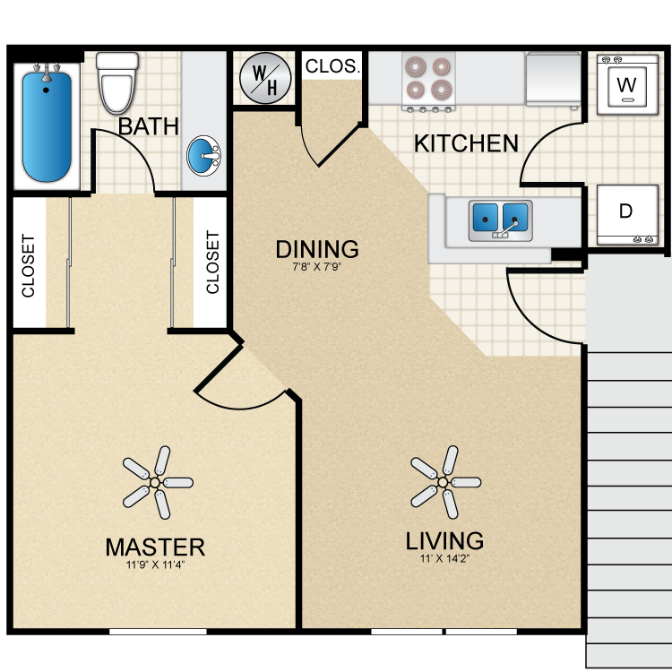 Floor plan image of Carriage House