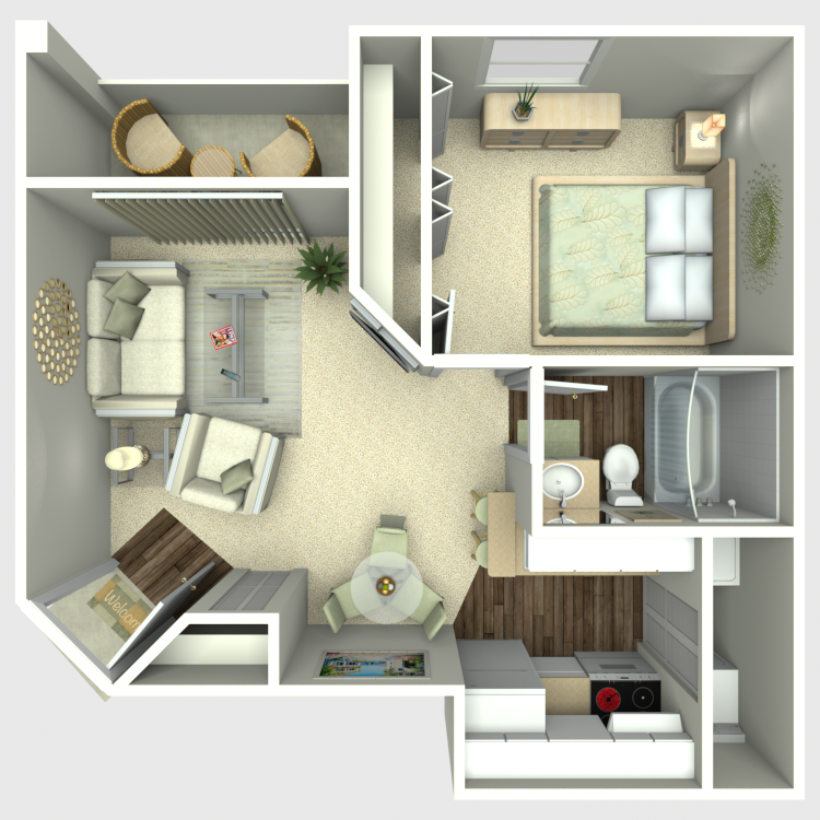 Cross Creek - Availability, Floor Plans & Pricing on building plans with apartment, gardening with apartment, house plans 1 bedroom apartment, home with apartment,