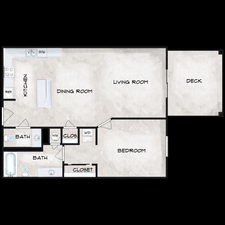 Floor plan image of A2E