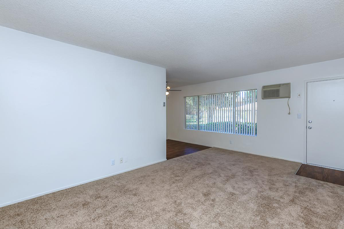Living room with carpet