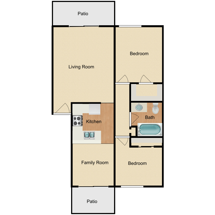 Floor plan image of The Aspens