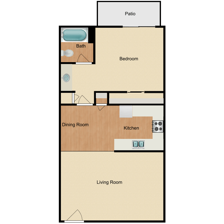 Floor plan image of The Birches