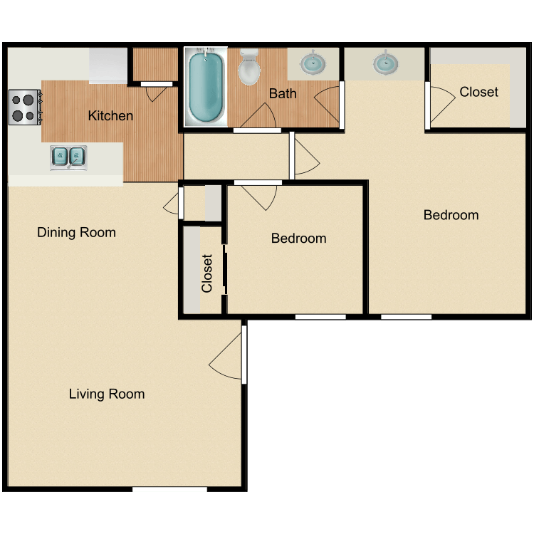 Floor plan image of The Willows