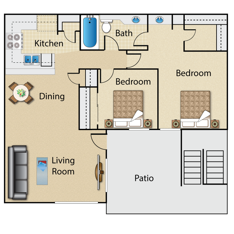 The Willows floor plan image