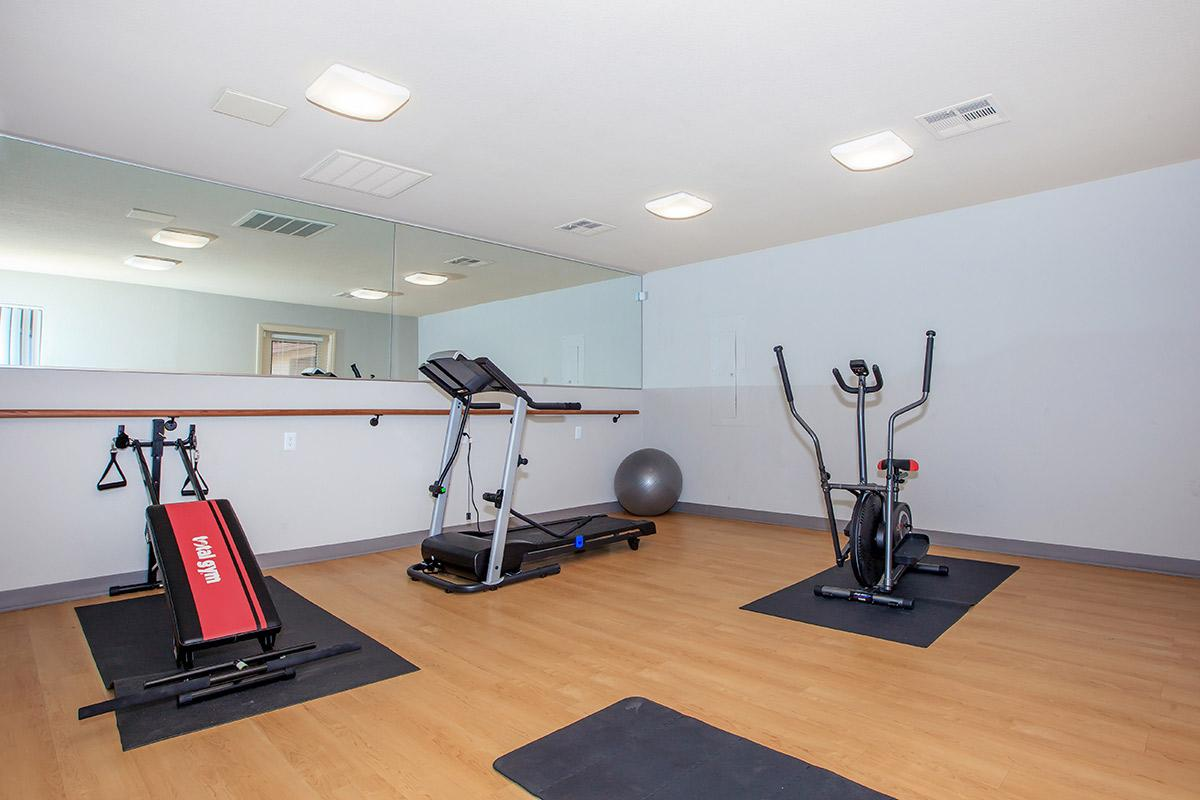 Fitness center at Toscana