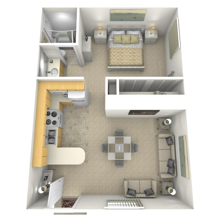 Floor plan image of Cheyenne