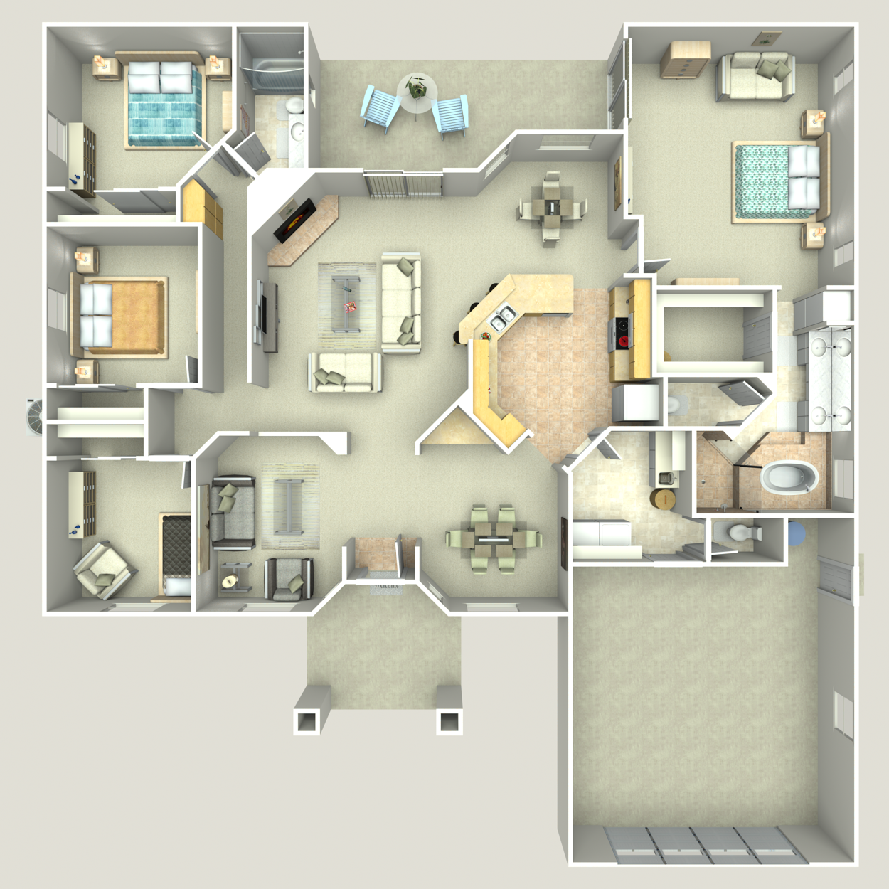 Floor plan image of Executive