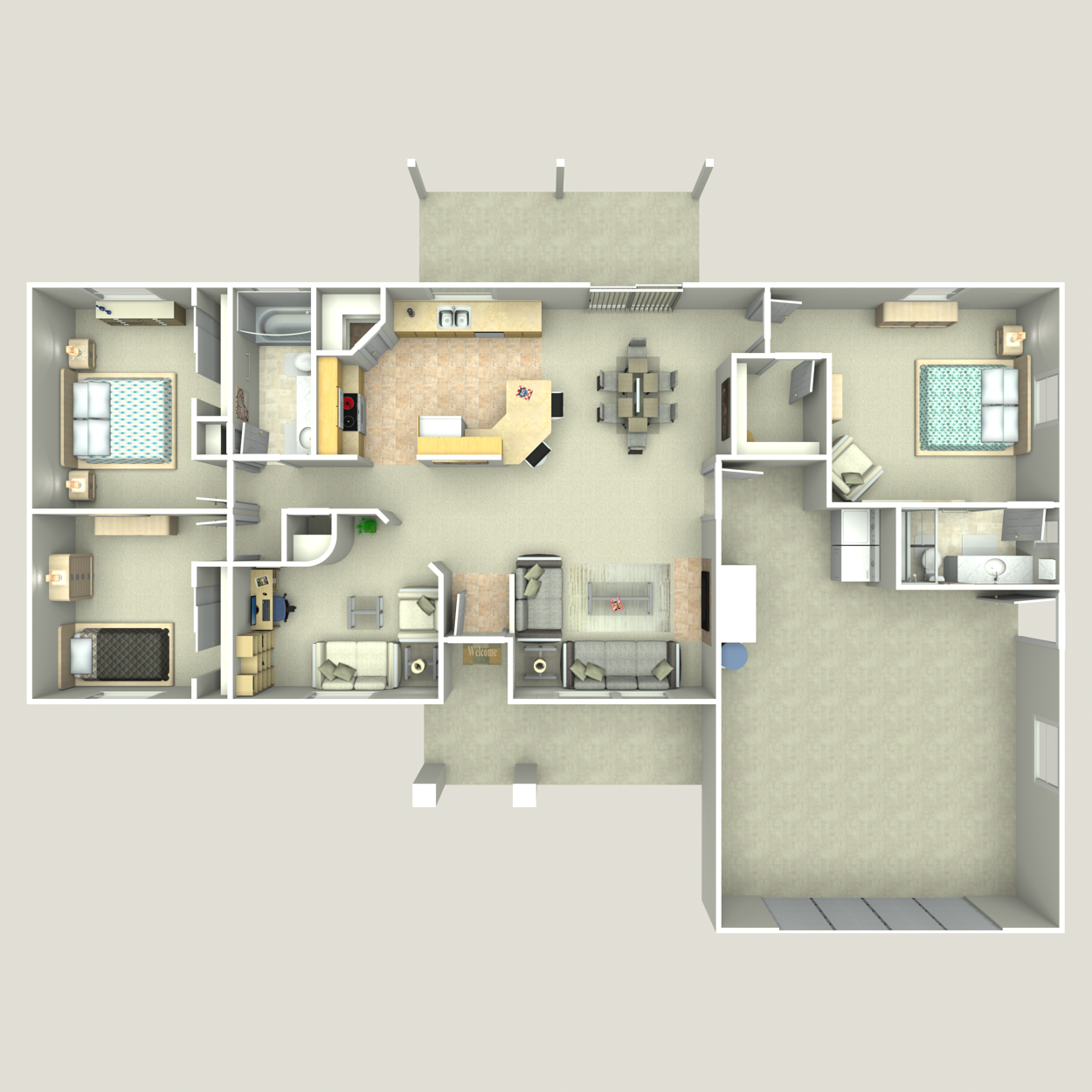 Floor plan image of Heritage II