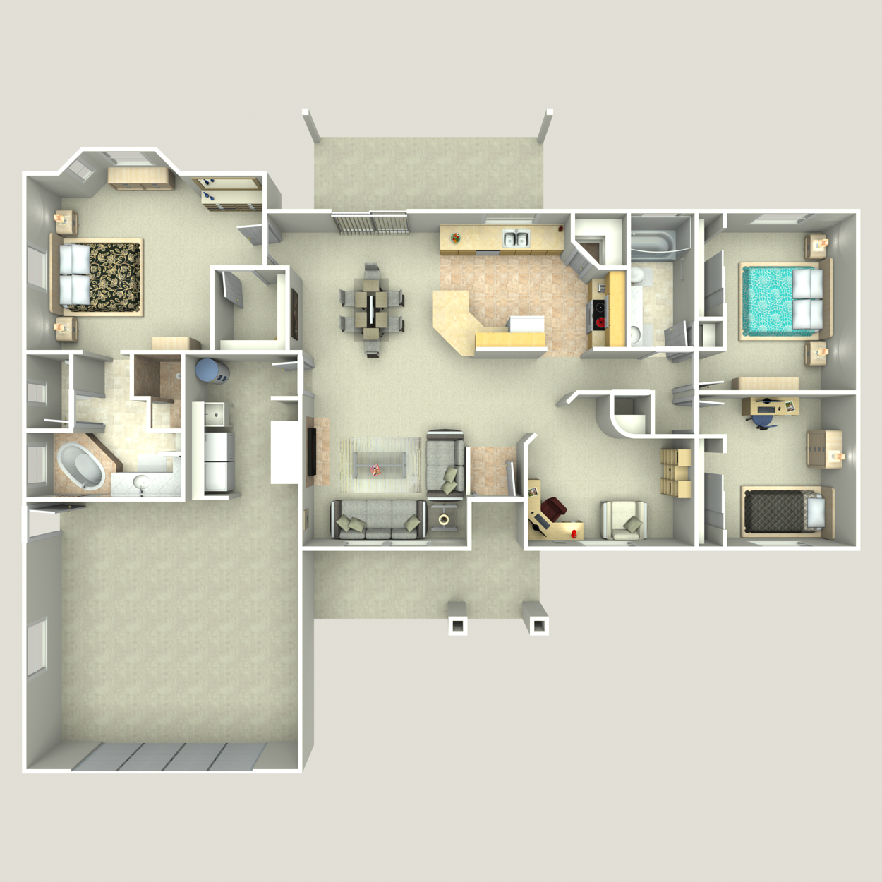 Floor plan image of Heritage III