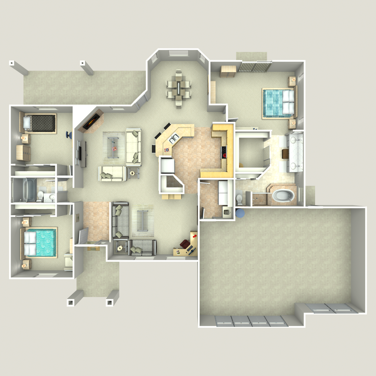 Floor plan image of Monterey II
