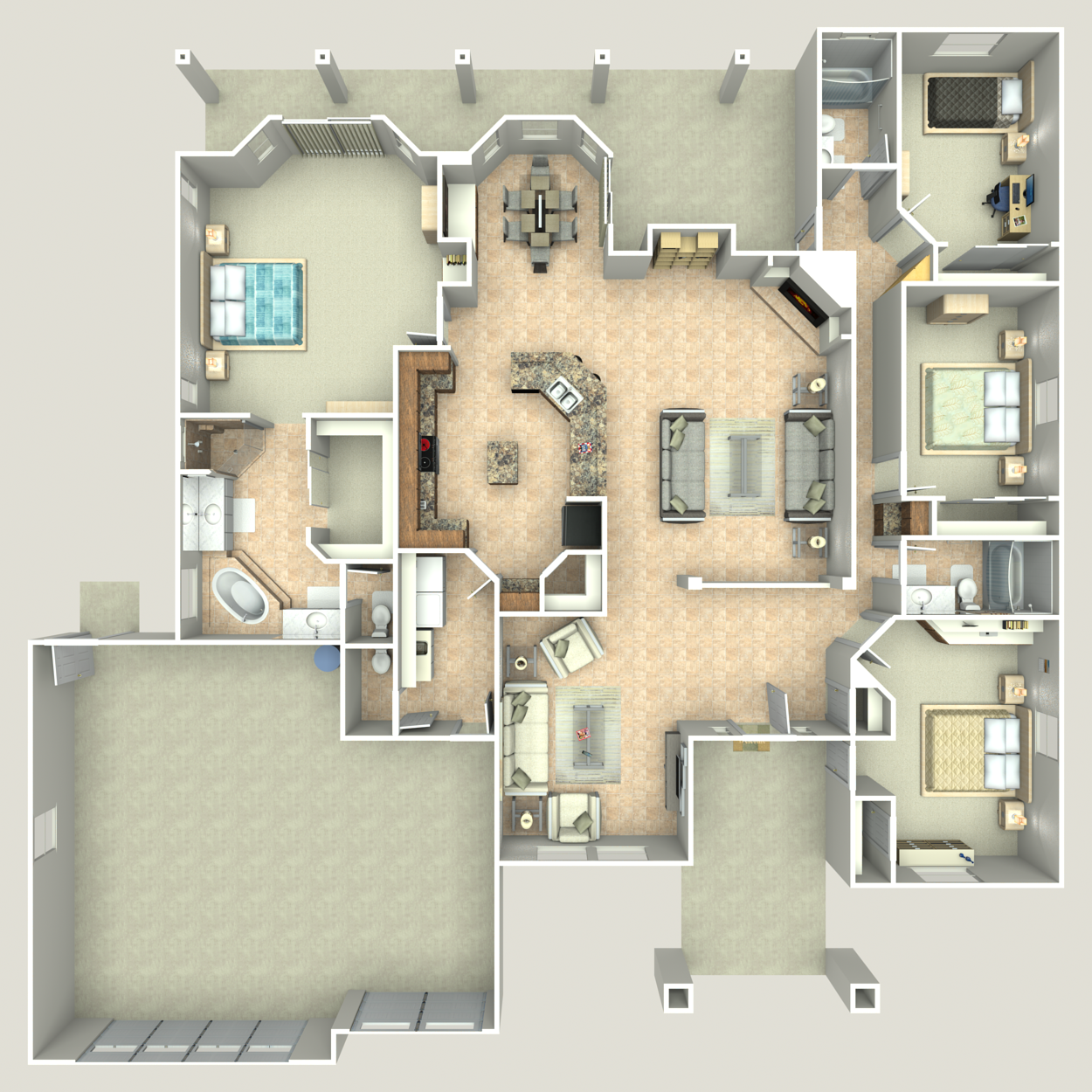 Floor plan image of The President