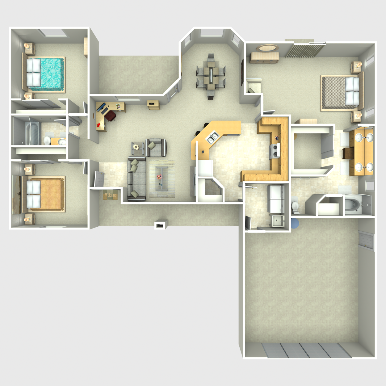 Floor plan image of Silver Sandpiper