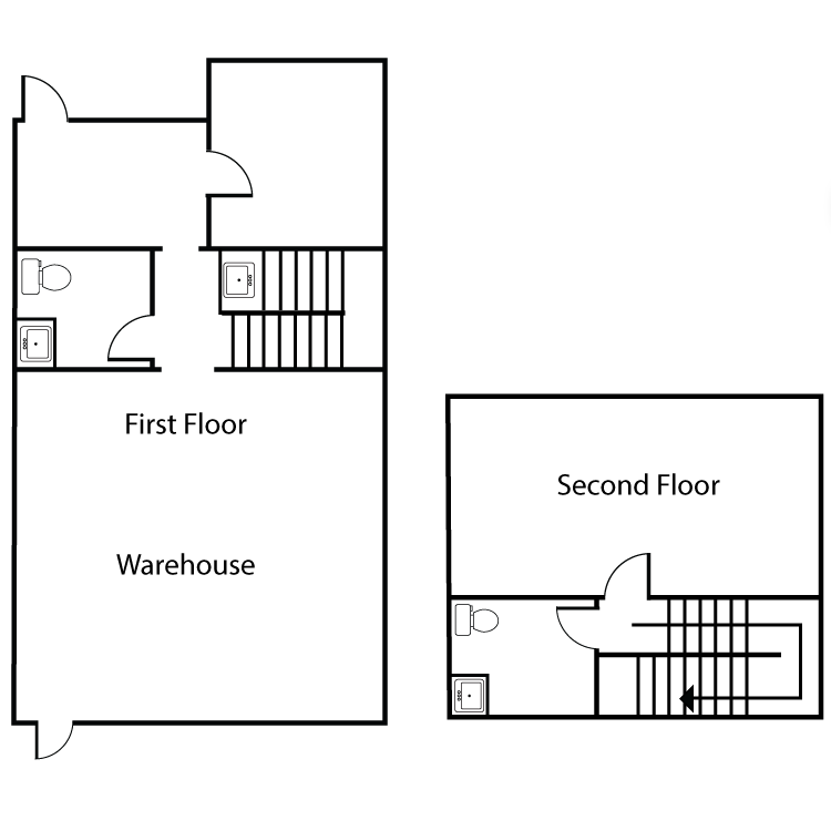 Floor plan image of Office/Warehouse Plan A