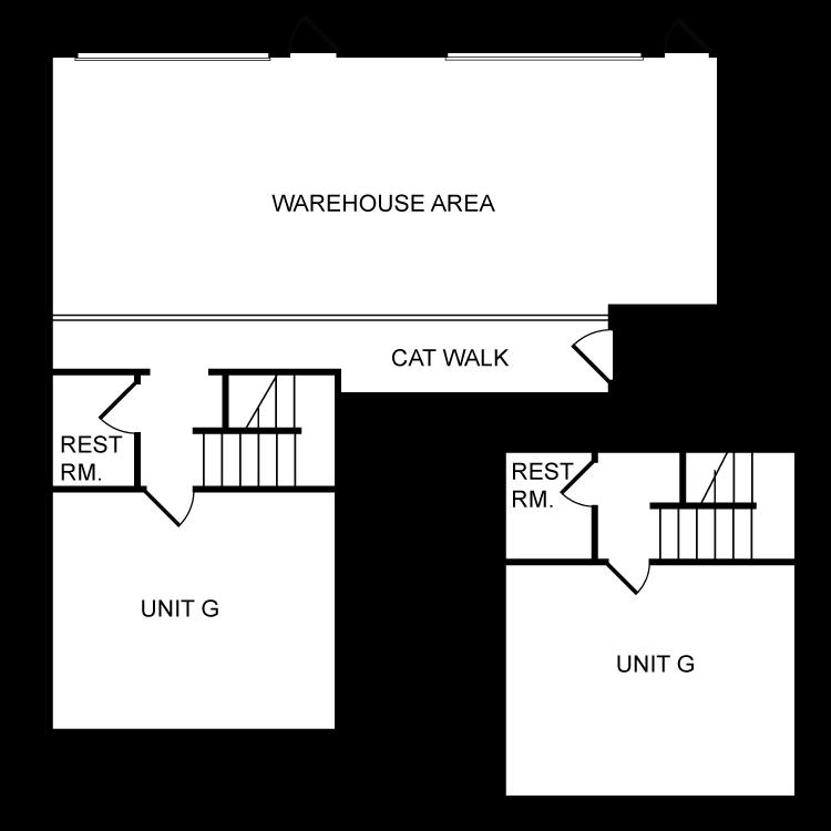 Floor plan image of Office/Warehouse Plan G