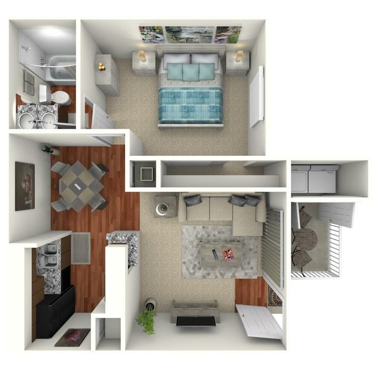 Floor plan image of A1
