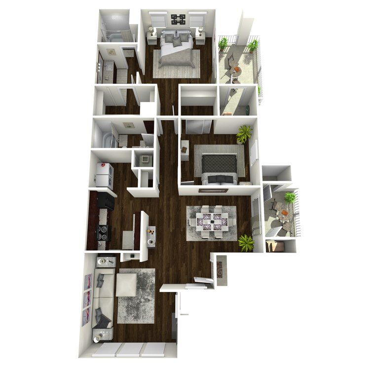 B5 floor plan image