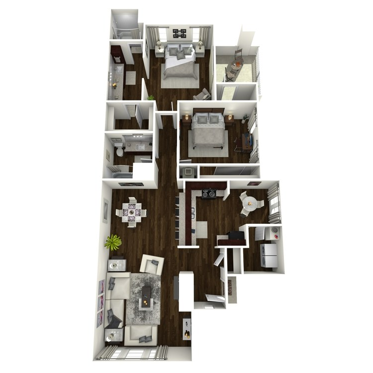 B6 floor plan image