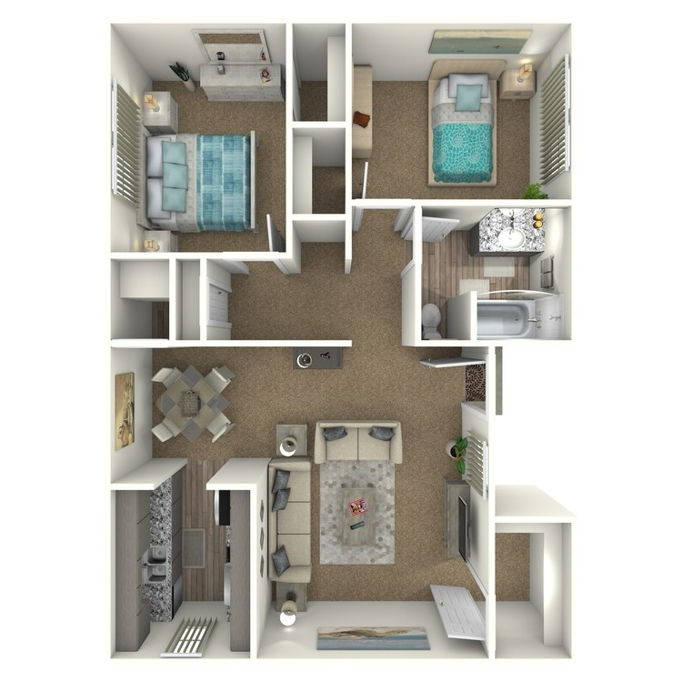 Floor plan image of Bravo