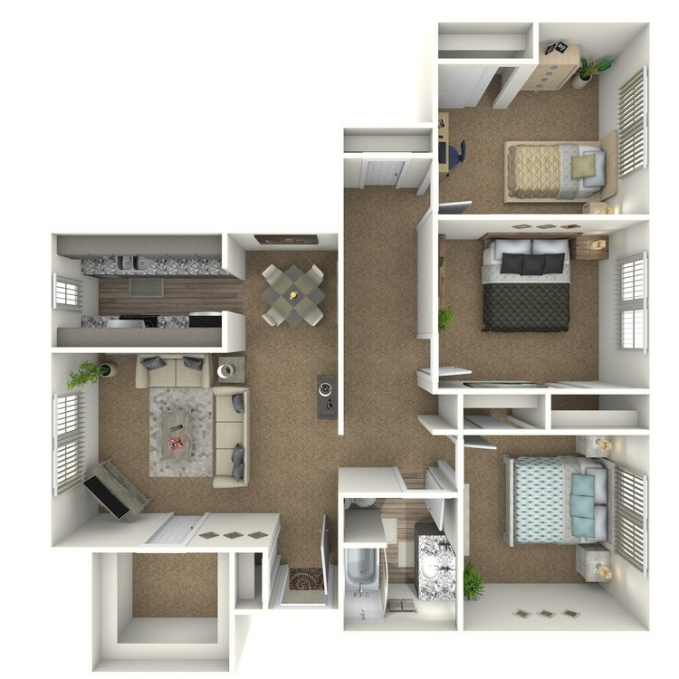 Floor plan image of Alpha