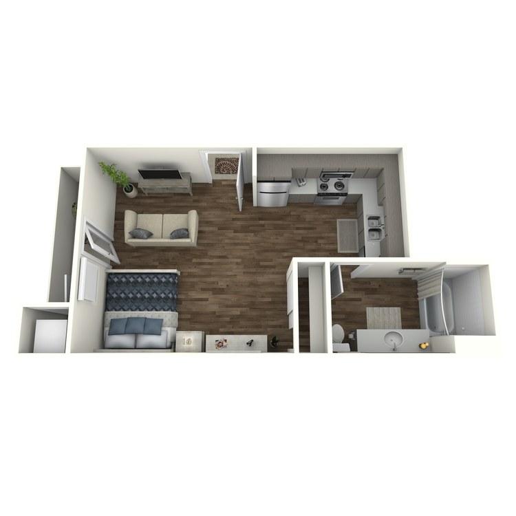 Floor plan image of S2 Studio
