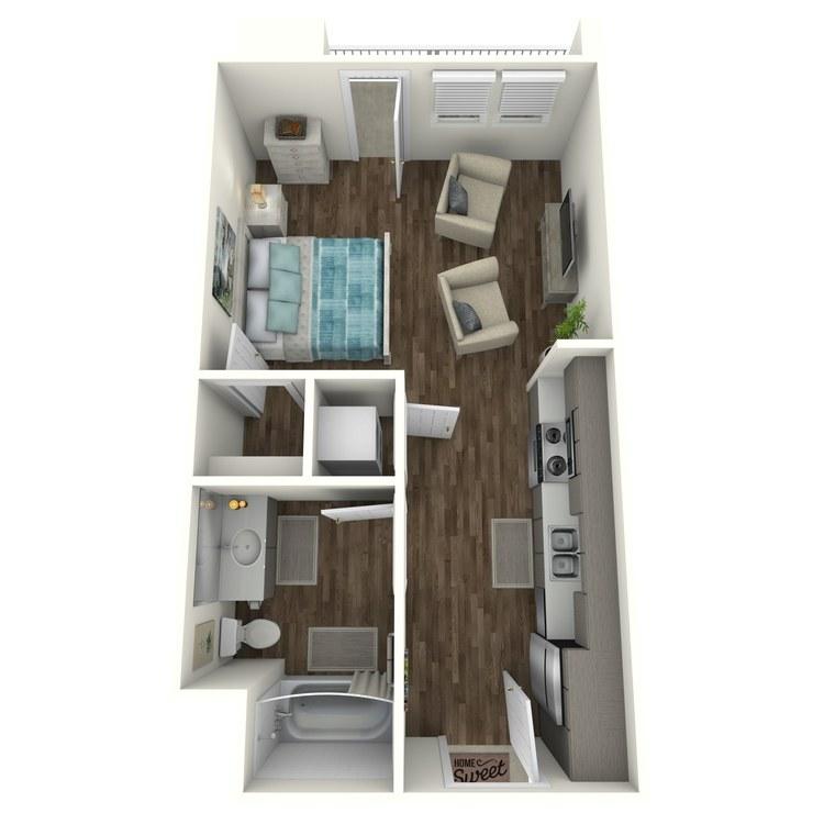 Floor plan image of S3 Studio