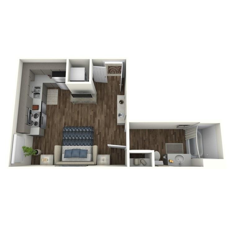 Floor plan image of S1 Studio