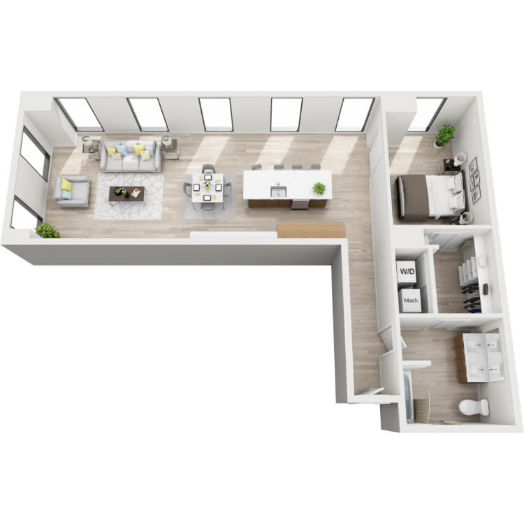 Floor plan image of 10-Southwest View